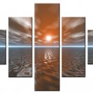 """Dafen Modern seascape oil painting on Canvas """"sunsetting062"""""""