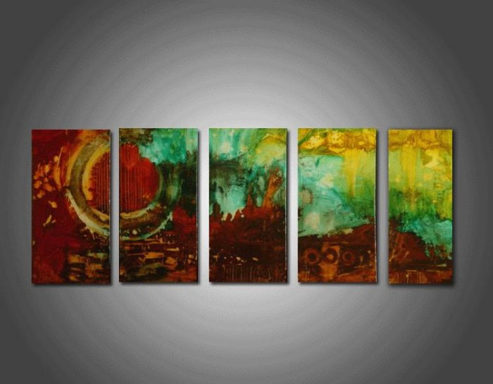 "Dafen Modern Abstract oil painting on Canvas ""Illusion 094"""