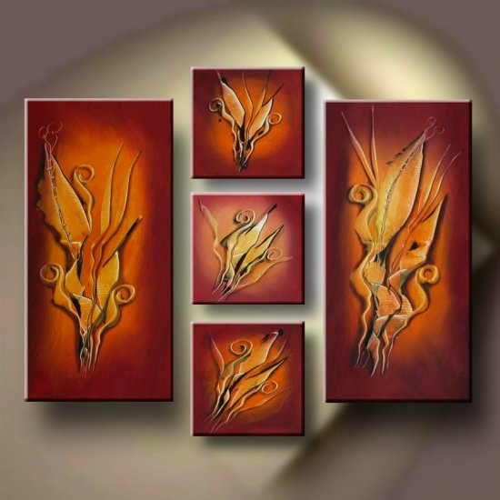 """Dafen Modern Abstract oil painting on Canvas """"Illusion 134"""""""