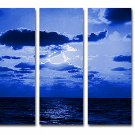 """Dafen Modern seascape oil painting on Canvas """"sunsetting202"""""""