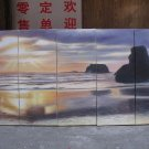 """Dafen Modern seascape oil painting on Canvas """"sunglow489"""""""