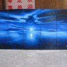 """Dafen Modern seascape oil painting on Canvas """"sunglow500"""""""