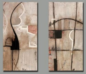 Modern oil painting on Canvas abstract painting set175