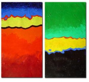 Modern oil painting on Canvas abstract painting set273
