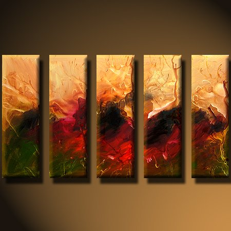 Modern oil painting on Canvas abstract painting set428