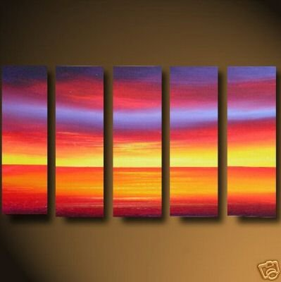 Modern oil painting on Canvas abstract painting set462