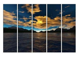 Modern oil painting on Canvas seascape painting set582