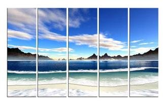 Modern oil painting on Canvas seascape painting set584