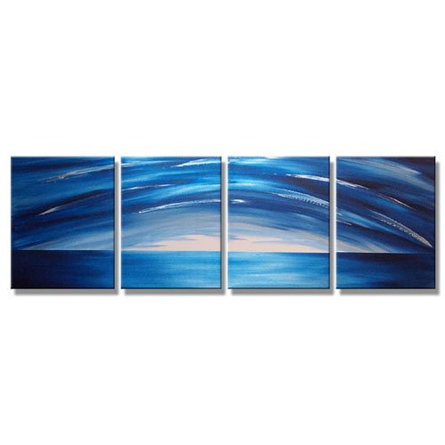 Modern Contemporary oil paintings on Canvas abstract painting set 294