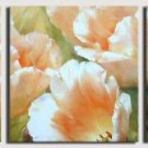 Modern Contemporary oil paintings on Canvas flower painting set 251
