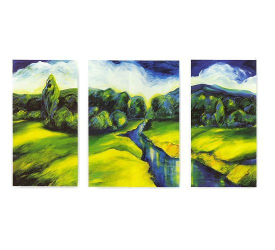 Modern Contemporary oil paintings on Canvas still life painting set 283