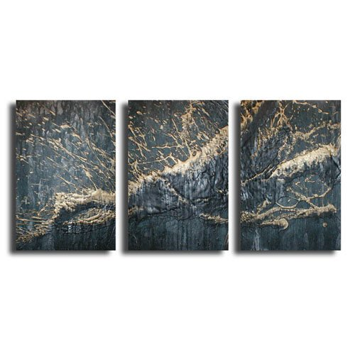 Modern Contemporary oil paintings on Canvas abstract painting set 298