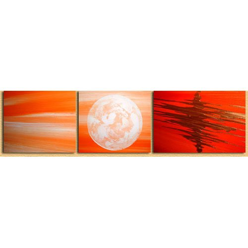 Modern Contemporary oil paintings on Canvas sun rise painting set 299
