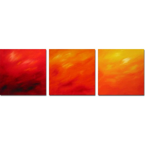 Modern Contemporary oil paintings on Canvas abstract painting set 307