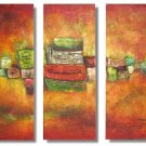 Modern Contemporary oil paintings on Canvas country painting set 320