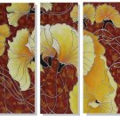 Modern Contemporary oil paintings on Canvas flower painting set 324
