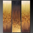 Modern Contemporary oil paintings on Canvas abstract painting set 327