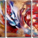 Modern Art Deco oil paintings on Canvas abstract painting set 371