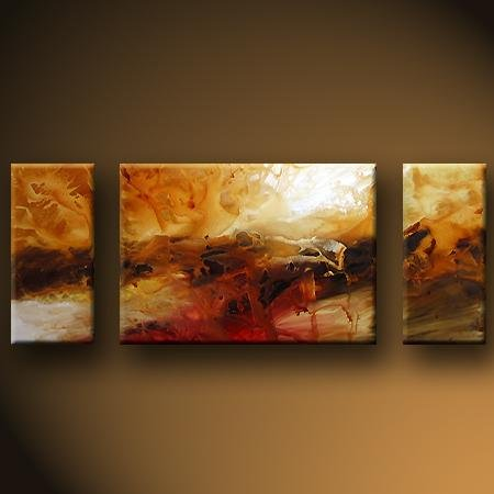Modern Art Deco oil paintings on Canvas abstract painting set 429