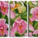 Modern Art Deco oil paintings on Canvas flower painting set 557