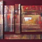 Modern contemporary oil paintings on canvas abstract painting set 727