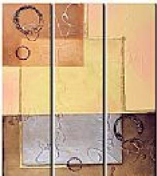 Modern contemporary oil paintings on canvas abstract painting set 740