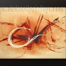 Handmade Art deco Modern abstract oil painting on Canvas set 09083