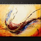 Handmade Art deco Modern abstract oil painting on Canvas set 09109