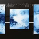 Handmade Art deco Modern abstract oil painting on Canvas set 09142