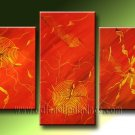 Handmade Art deco Modern abstract oil painting on Canvas set 09218
