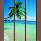 100% handmade Art deco Modern seascape oil paintings on Canvas set10005