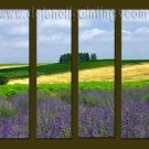 Modern Contemporary oil paintings on Canvas landscape painting set10066