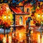 Modern impressionism palette knife oil painting on canvas kp004