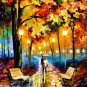 Modern impressionism palette knife oil painting on canvas kp011