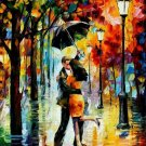 Modern impressionism palette knife oil painting on canvas kp024