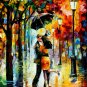 Modern impressionism palette knife oil painting on canvas kp025