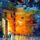 Modern impressionism palette knife oil painting on canvas kp041