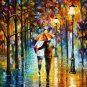 Modern impressionism palette knife oil painting on canvas kp058