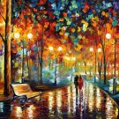 Modern impressionism palette knife oil painting on canvas kp067