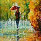 Modern impressionism palette knife oil painting on canvas kp086