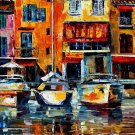 Modern impressionism palette knife oil painting on canvas kp089