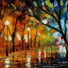 Modern impressionism palette knife oil painting on canvas kp100