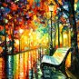 Modern impressionism palette knife oil painting on canvas kp101