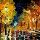 Modern impressionism palette knife oil painting on canvas kp110