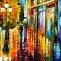 Modern impressionism palette knife oil painting on canvas kp126