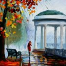 Modern impressionism palette knife oil painting on canvas kp133