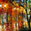 Modern impressionism palette knife oil painting on canvas kp135