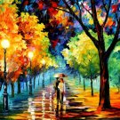 Modern impressionism palette knife oil painting on canvas kp145