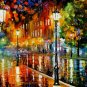 Modern impressionism palette knife oil painting on canvas kp146
