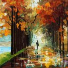 Modern impressionism palette knife oil painting on canvas kp156